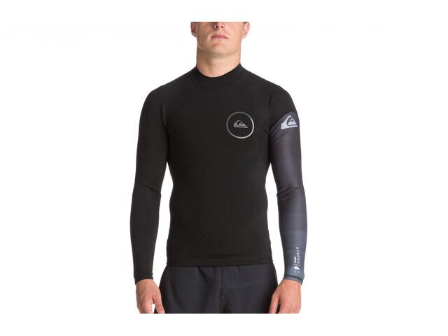 Quiksilver 1mm Syncro Series Haut de surf à manches longues en néoprène Homme, black/jet black